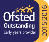 Ousted Outstanding early years provider logo